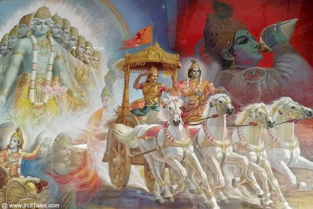 Mahabharat War Scene by G Kamble