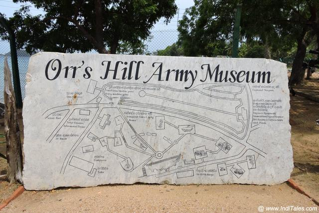 Orr's Hill Army Museum Trincomalee