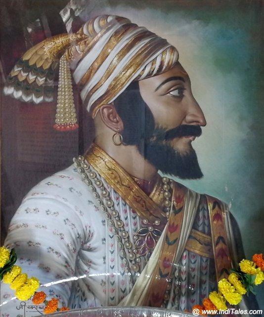 Portrait of Shivaji Maharaj