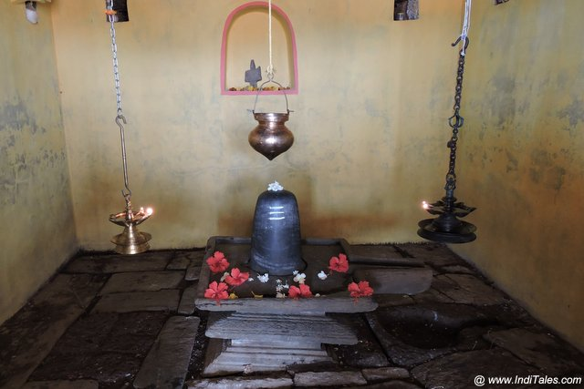 Swayambhu Linga at Someshwar Mahadev Temple - Curdi, Goa