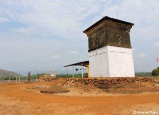 Someshwar Mahadev Temple in Curdi - the submerged village of Goa