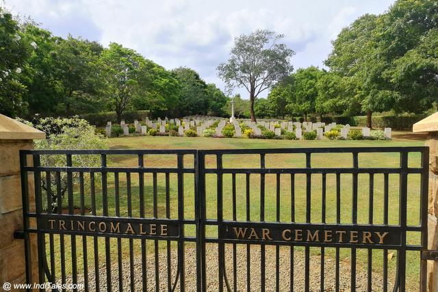 War Cemetery - Places to visit in Trincomalee