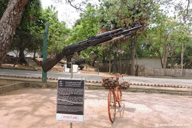 सेना संग्रहालय - त्रिंकोमाली श्री लंका