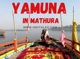 Yamuna in Mathura