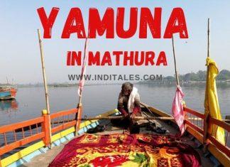 Yamuna in Mathura
