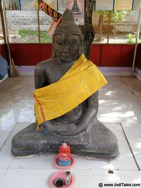 Buddha Statue in Kanchi