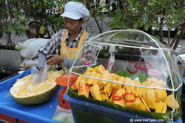 Fruits in the streets of Thailand