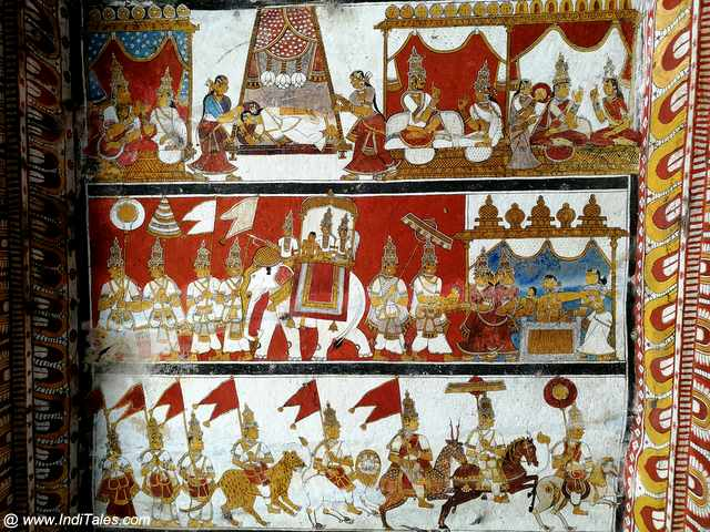 Jain Temple Murals - Places to visit in Kanchipuram
