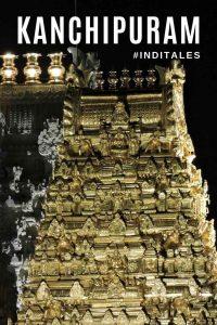 Golden Shikhara of Kanchi Kamakshi Temple