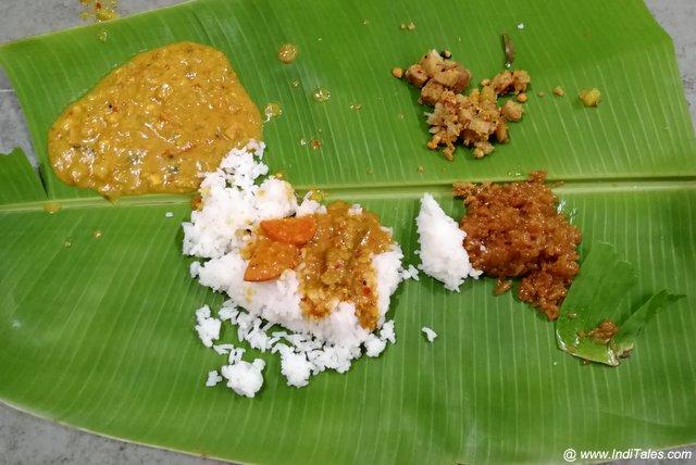 Kanchi Kamkoti Mutt Meal