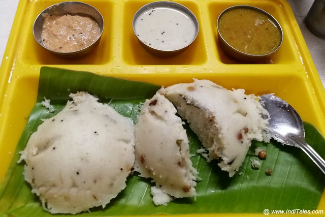 Sevai Idli at Kanchipuram