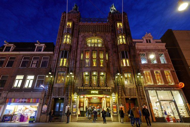 Theatre Tuschinski, Amsterdam, one of the oldest cinemas of Netherlands