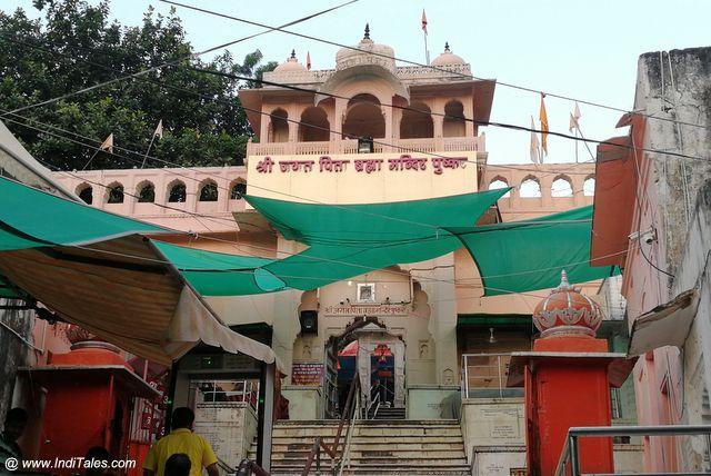 Entrance of Brahma Temple in Pushkar