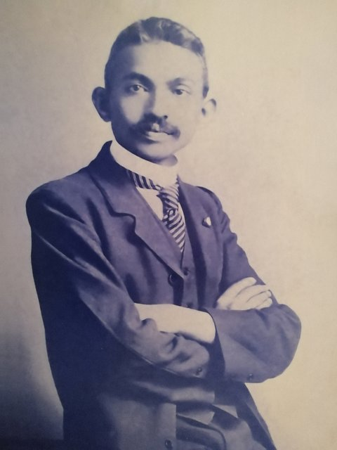 Mohandas Karamchand Gandhi the barrister