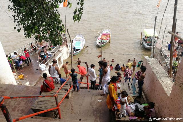 Ganga Ghat near Vindhyavasini Mandir