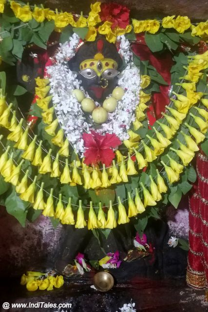 Maha Kali Temple Idol image at Vindhyachal