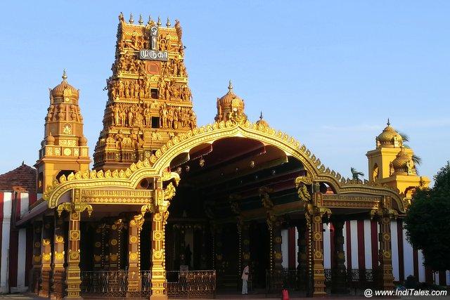 Nallur Kandaswamy Temple landscape view