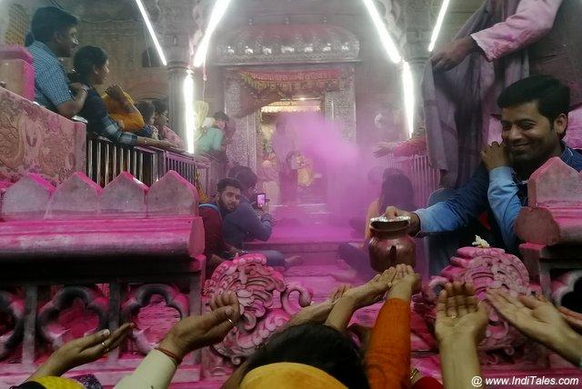 Sri Radha Vallabh Mandir Vrindavan