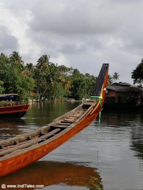 Snake Boat on Kerala Backwaters