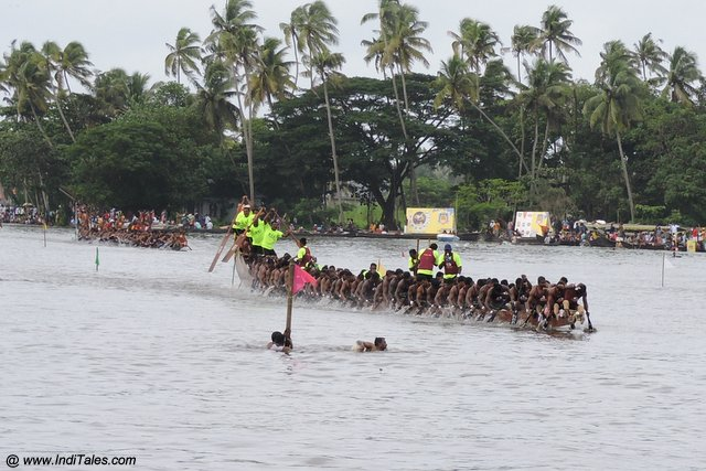 Snake Boat Race or Vallamkali