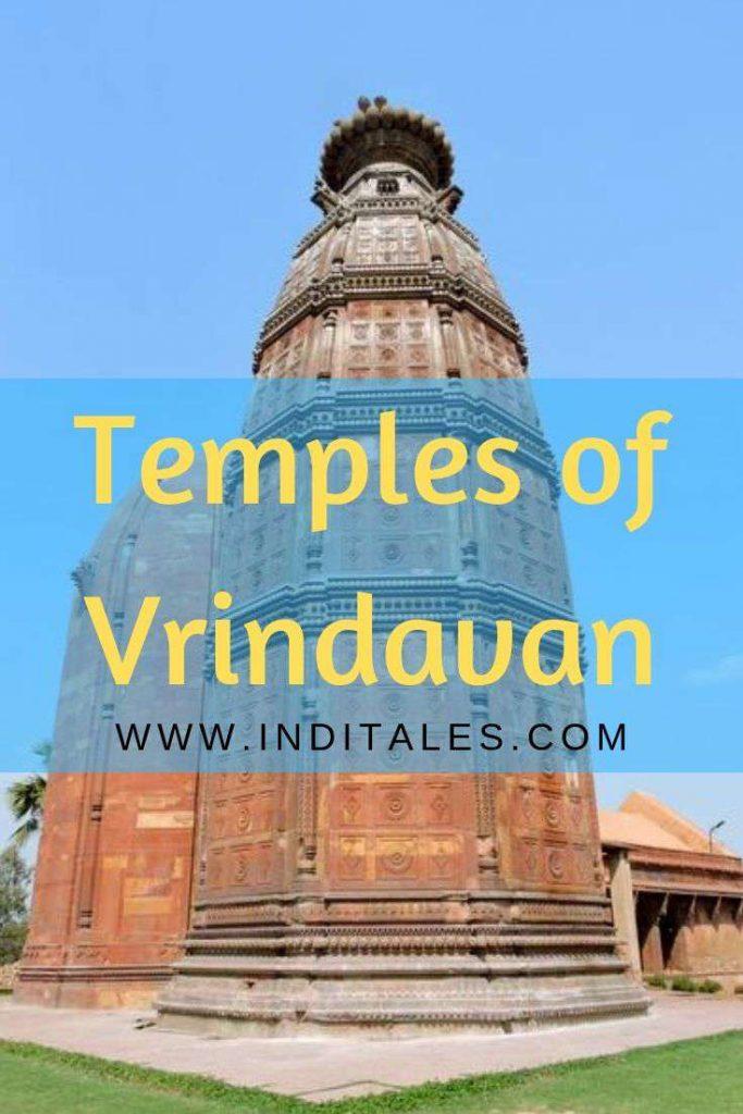 Temples in Vrindavan