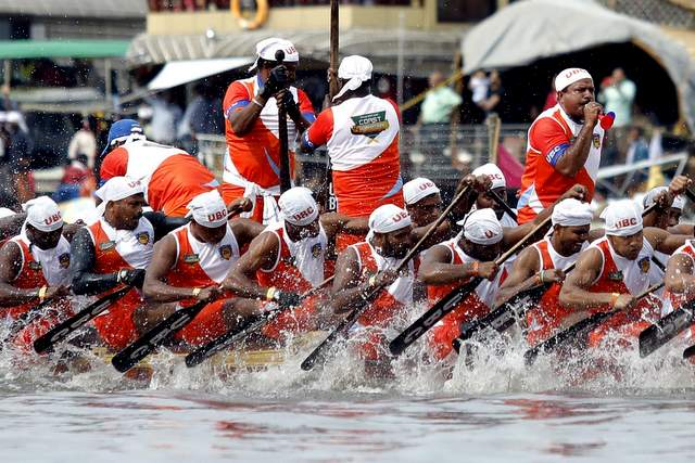 Kerala Boat Race or Vallamkali