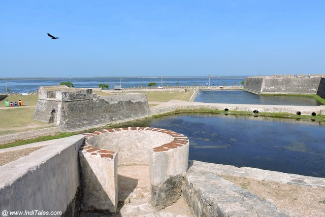 View from Jaffna Fort