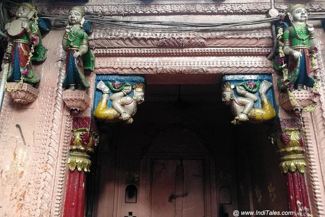 Vindhyavasini temple architecture