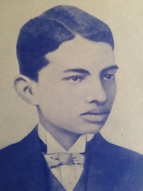 Young Mohandas Karamchand Gandhi