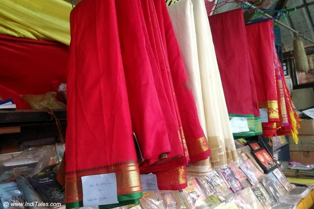 Saris of Devi for sale