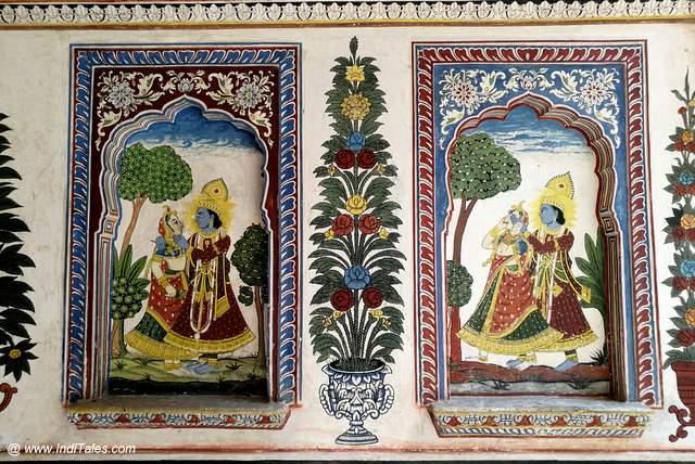 Scenes from Jayadeva's Geet Govind
