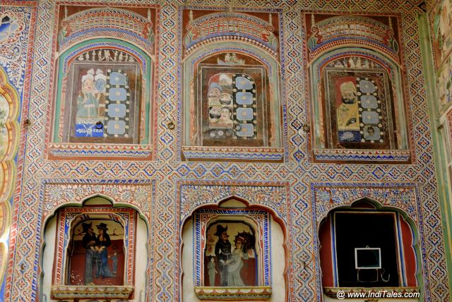 Painted Courtyards of Shekhawati Haveli