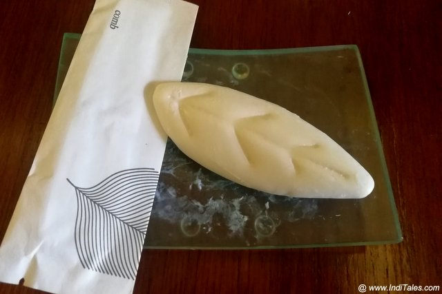 Soap in a paper wrap - Westin Pushkar