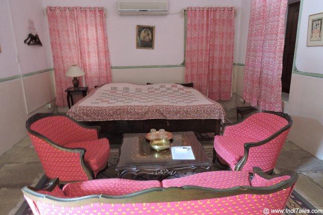 Pink Room at Piramal Haveli