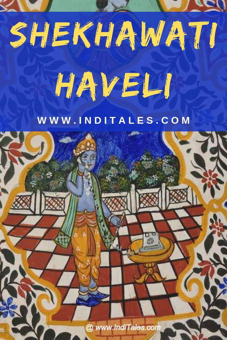 Wall Murals of Shekhawati Havelis