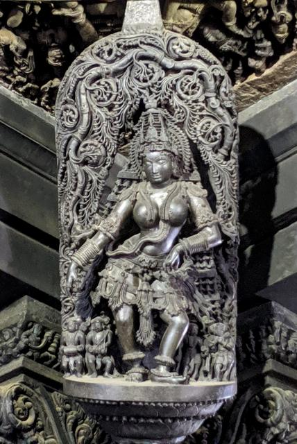Carved Bracket of Navranga Mandapa