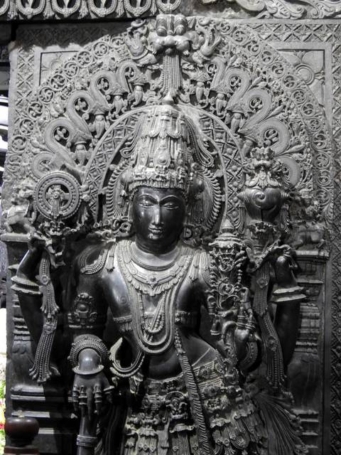 Dwarpala at Chennakeshava Temple Belur