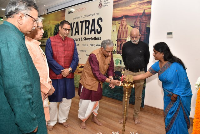 Lighting of Lamp - Inauguration of the conference 2019