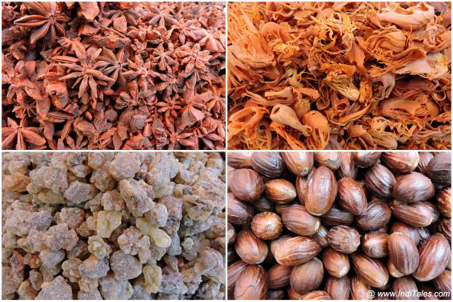 Spices at Mapusa Market in Goa