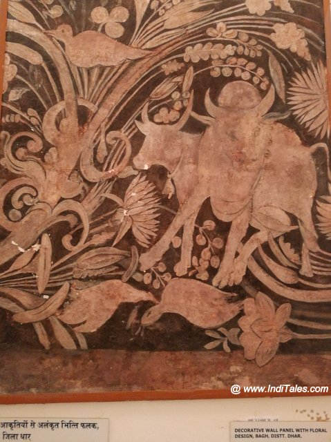 Flora and Fauna on Bagh Paintings