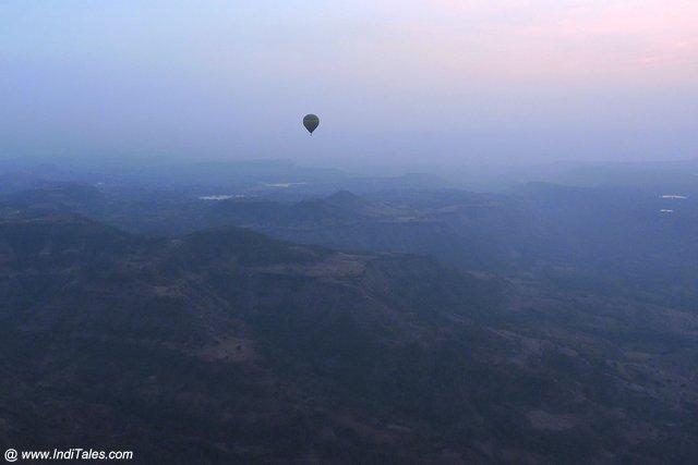 Hot air balloon - Mandu
