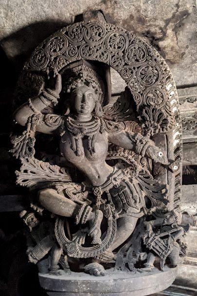 Madanika - Ikkeri Hoysala Temples