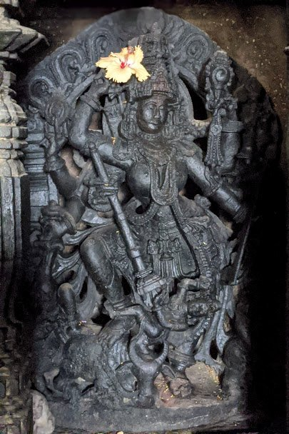 Mahishasurmardini - Brahmeshwar Temple Kikkeri