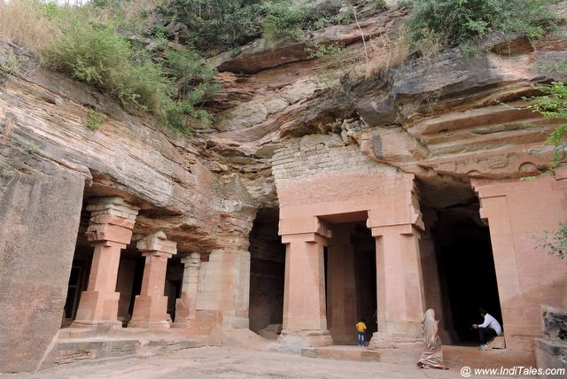 Pillared Halls of Bagh Caves