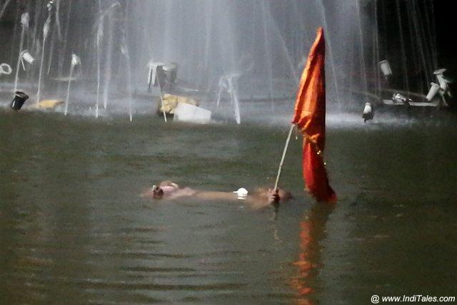 Narmada Arti at Reva Kund