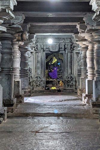 Shantiswarup Kali - Unusual of Hoysala Temples