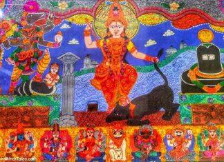 Biraja Devi along with Varaha, Shivalinga, Saptamatrika and Vaitarni River