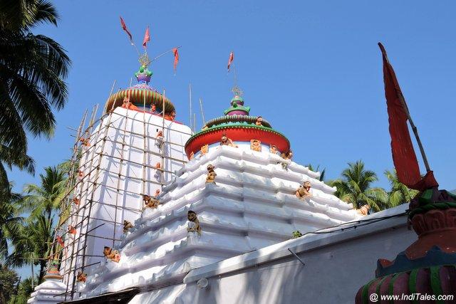 बिरजा देवी मंदिर का शिखर