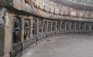 Unique circular shape pf Chausath Yogini Temples