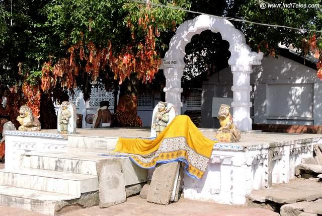 बिरजा देवी मंदिर का डोला मंडप